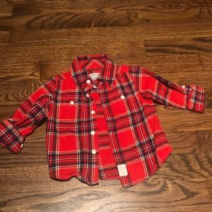 Carter's flannel for baby girl